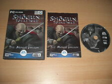 Shogun TOTAL WAR-L' INVASIONE MONGOLA add-on pacchetto di espansione PC CD Wn Post veloce