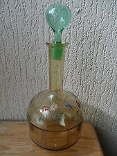 Glassware Enamelled Art Nouveau 1900 Large Carafe Color Gt Baccarat Vgc Liberty