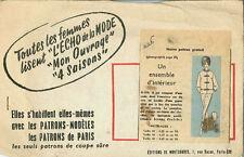 Vintage un ensemble d'interieur français à coudre motif G226 taille 44