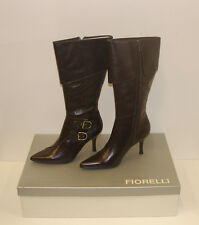 FIORELLI WOMENS POINTY WINTER BOOTS SIZE 7.5 LEATHER LADIES JAYE CHOC rrp$299.95