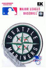 """SEATTLE MARINERS MLB BASEBALL 3 3/8"""" STICKER PATCH"""