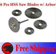 Pcs HSS Circular Saw Blade  Arbor for 8220-2/28 395 7700-1/15 4000 3/34 Rotary