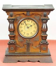 TABLE CLOCK IN WOOD. PARIS MACHINES WITH MUSIC BOX. CENTURY XIX-XX.