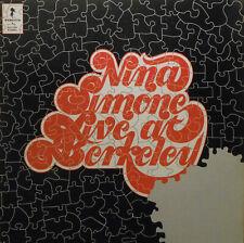 Nina Simone - Live At Berkeley - Original 1973 Stroud Vocal Jazz LP - Plays NM