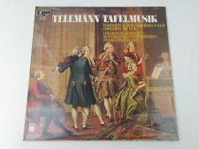 GEORG PHILIPP TELEMANN - TAFELMUSIK - COLLEGIUM AUREUM - LP HARMONIA ITALY NEW!!