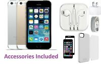 Unlocked Apple iPhone 5s -Space Gray-Silver - Gold  A1533 (CDMA + GSM) 16GB 32GB