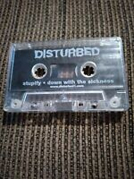 Disturbed Down with the  Sickness/ Stupify Cassette Demo(TAPE ONLY) VERY Rare