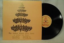 The United States Navy Band & Julius La Rosa rare vtg lp 33 record Sing Noel