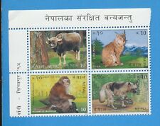5ddz Nepal Sg 496-502 Blocks Of Four Mnh Nepal