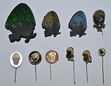 Calimero カリメロ Kalimero Cartoon Comic vintage pin badge lot Brooch Mega Rare