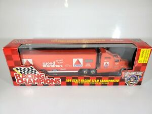 1996 NASCAR Racing Champions Team Transporter Wood Zibrothers Citgo 1/64 Diecast