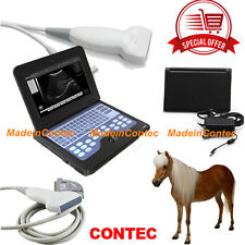 Smart Laptop Ultrasound Scanner System+7.5MHZ Linear Probe Vet Animal Use CONTEC