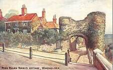 BR95741 miss ellen terry s cottage winchelsea painting postcard family reader uk