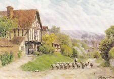 CROPTHORNE, WORCESTERSHIRE - A.R QUINTON  COLOUR  POSTCARD
