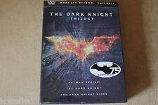 The Dark Knight Trilogy DVD Box  2012, 3-Disc Set, Limited Edition region 2