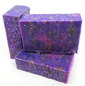 Lavender Flower Rustic Handmade Soap Essential Oil Moisturising ECO Plastic Free