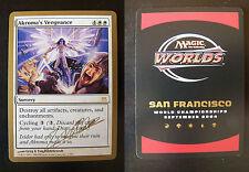 Akroma's Vengeance - World Champ Deck - San Francisco 2004 (Gold Border)