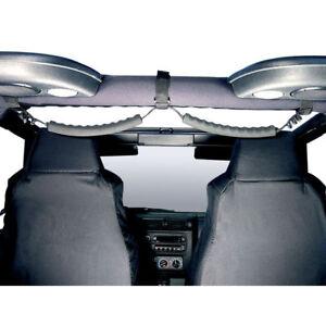 For Jeep Wrangler Yj Tj 87-06 Rear Dual Grab Handles Black  X 13305.05