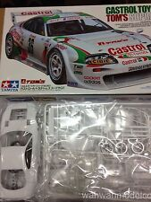 TAMIYA 1/24 CASTROL TOYOTA TOM'S SUPRA GT 24163 SPORTS CAR MODEL KIT