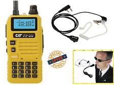 CRT FP00 RICETRASMITTENTE VHF UHF 136-174 MHZ / 400-480 MHZ PMR LPD GIALLO