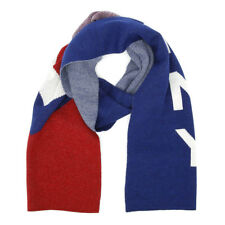 Tommy Hilfiger Chevron Corporate Scarf Unisex Warm Winter Wrap Knitted