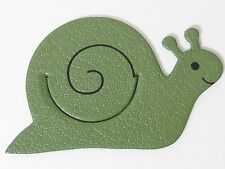 """HERMES PikaBook """"Snail"""" in Green Bookmark Charm Authentic"""
