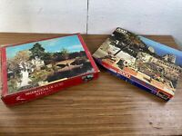 Pair of Unchecked 2000 and 3000 Piece Waddington and Hestair Puzzles