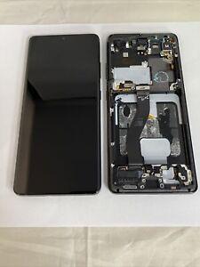 Official Samsung Galaxy S21 Ultra 5G SM-G998 Phantom Black LCD Screen