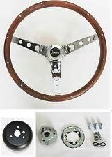 NEW! 1968 Chevrolet Camaro GRANT Wood Steering Wheel walnut 15""