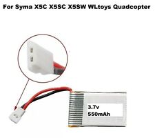 UK X5C-3.7V 550mAh not 500mAh Battery for Syma X5 X5A X5C RC DRONE Quadcopter