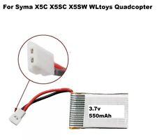 Reino Unido no X5C-3.7V 550mAh 500mAh Batería Para Syma X5 X5A X5C RC Drone Cuadricóptero