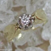 Brillantring Ring in aus 585 Gold mit Brillanten Diamond Finger Damen Gr.52