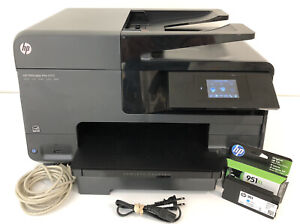🔥 HP Officejet Pro 8610 All-In-One Inkjet Printer - LOW PAGES - PRINTS PERFECT!