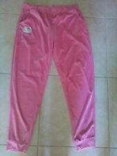 lotto 867 pantalone pantaloni tuta donna HELLO KITTY elasticizzato rosa TG.XL