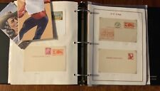 280+ Piece US Postal Card Collection Huge Lot First Day Issue & Mint Never Used