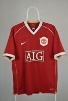 Manchester United Adult L LARGE Home Football Shirt 2006-2007 Nike / AIG