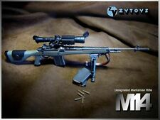 """M14 Automatic Sniper Rifle ABS Weapon Model 1/6 Scale ZY Toy F 12"""" Action Figure"""