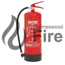 9LitreWater Fire Extinguisher 9LTR Including Bracket - CE Marked - Fire Chief
