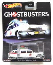 Hot Wheels Premium Retro Entertainment Ghostbusters Ecto-1 - Real Riders