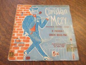 45 tours CHRISTIAN MERY nouvelles histoires corses o pasqua!