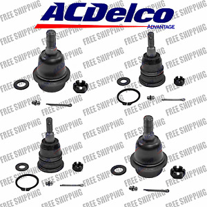 Suspension Kit New Upper Lower Ball Joints Set For Truck Chevrolet and GMC HD