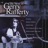 GERRY RAFFERTY - THE BEST OF CD ~ BAKER STREET~CITY TO CITY~GREATEST HITS *NEW*