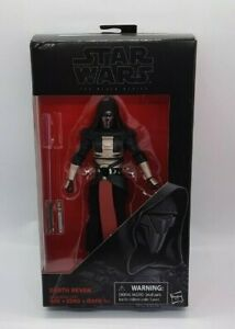 """STAR WARS 34 DARTH REVAN BLACK SERIES 6"""" SITH ACTION FIGURE IN STOCK NEW RARE MB"""