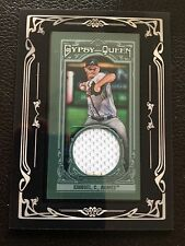2013 Gypsy Queen Craig Kimbrel Mini Game Used JERSEY RELIC Atlanta Bravers