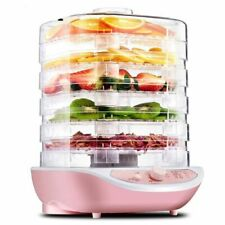 Food Dehydrator Machine Electric Multi-tier Preserver Meat Fruit Meat Dryer For