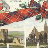Antique printed postcard Inverness St Andrews Cathedral Fortrose Scotland