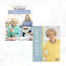 Foolproof Cooking,Complete Aga Cookbook Mary Berry 2 Books Set Collection New Ha