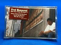Fred Hammond ‎– Speak Those Things POL Chapter 3 Cassette Tape Gospel SEALED OOP