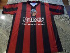 Iron Maiden Soccer Jersey Football shirt Official Merch Book of Souls 2017
