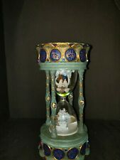 San Francisco Music Box & Gift Co. Crystal Visions Millennium Hourglass Signed